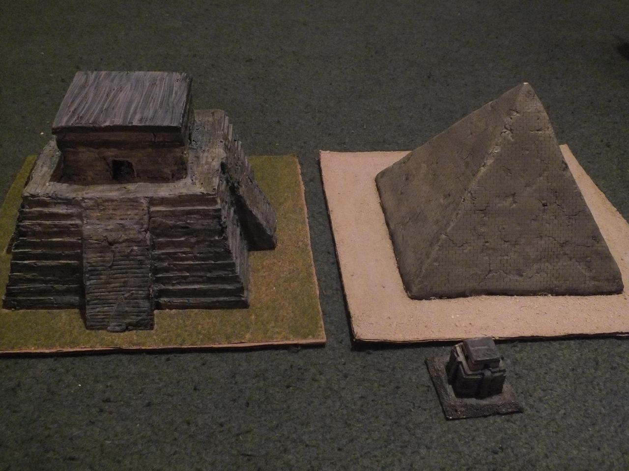 Model pyramids