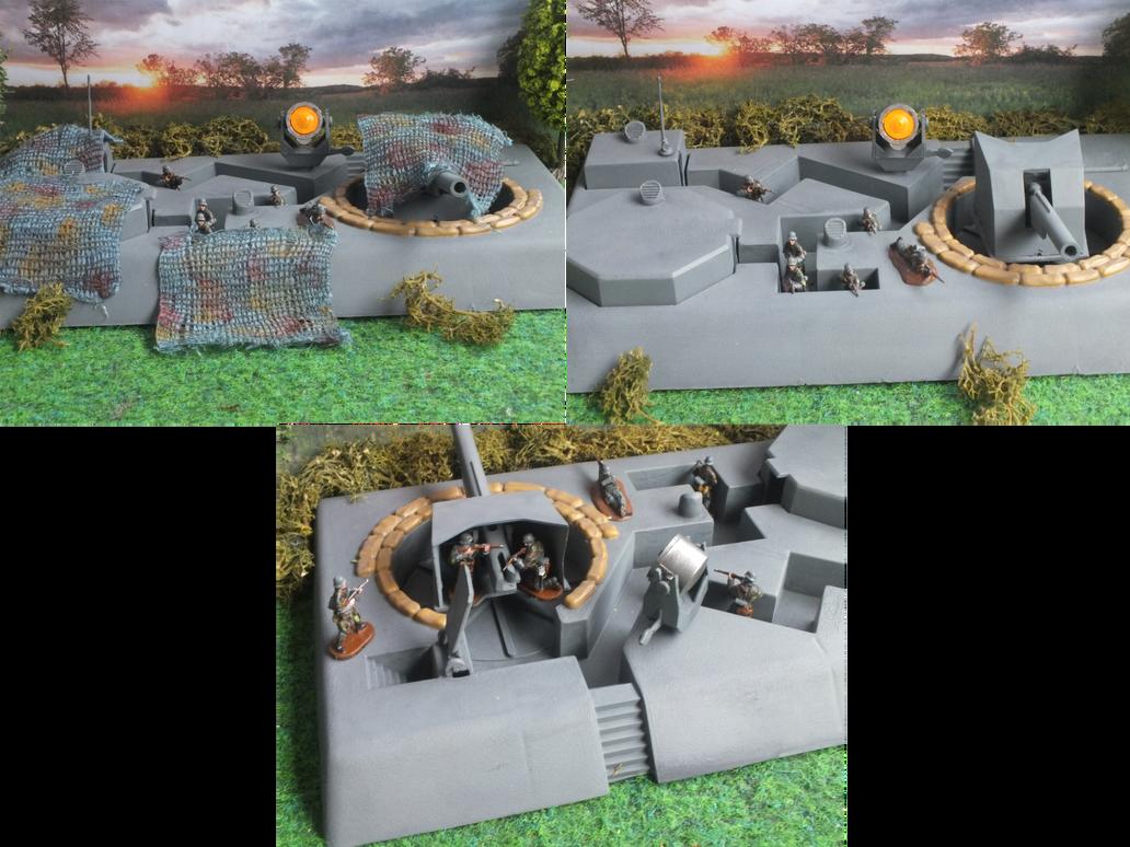 Airfix D Day Gun Emplacement By Baryonyx62 On Deviantart