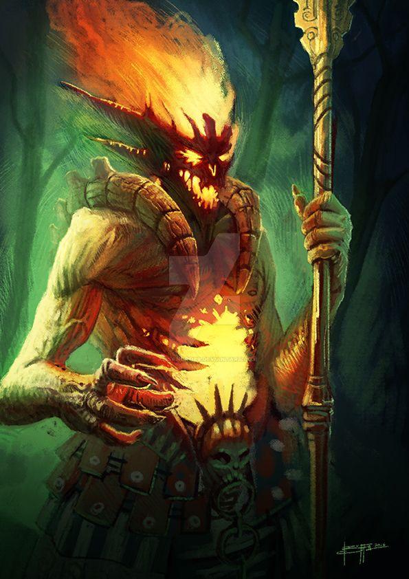 Fire Demon by Alisandro89
