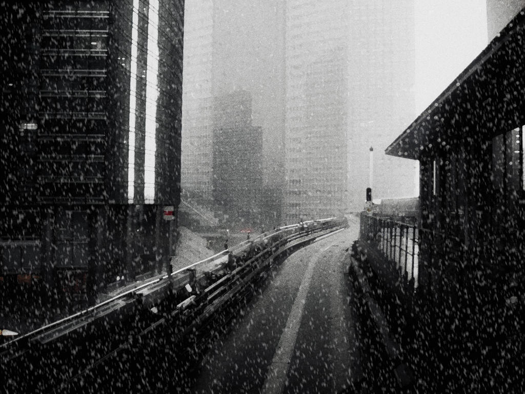 Tokyo in noir by Fr4gster