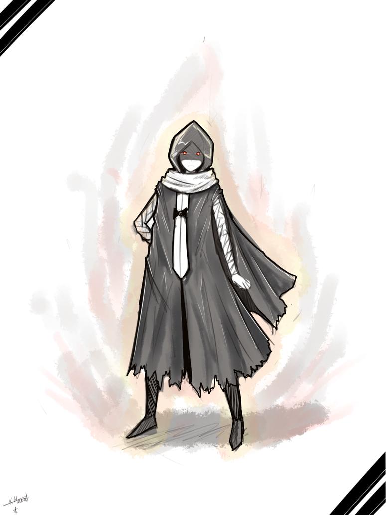 Sketch: Reaper by DantemaruXXX