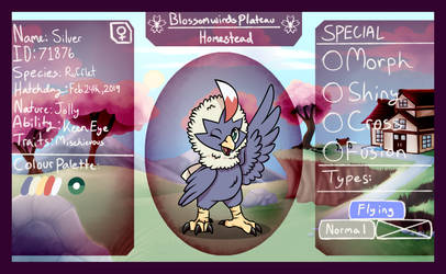 PKMNation BWP HS - 001 - Silver the Rufflet by CherryBerryXx