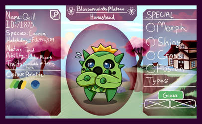 PKMNation BWP HS - 002 - Quill the Cacnea