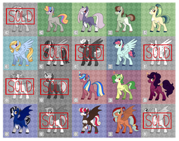 20 MLP Adopts - 30 pts each - OPEN