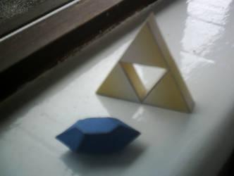 Legend of Zelda - Triforce by Noxus7897
