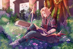 Peace in the Elven Woods by rUwUdy