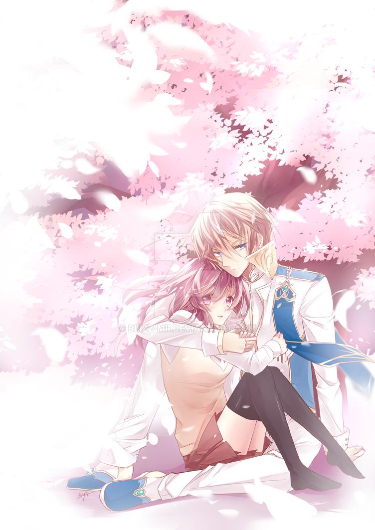 Chiriyuku Sakura by Blizz-Mii