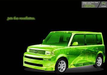 Alien SKIN Green