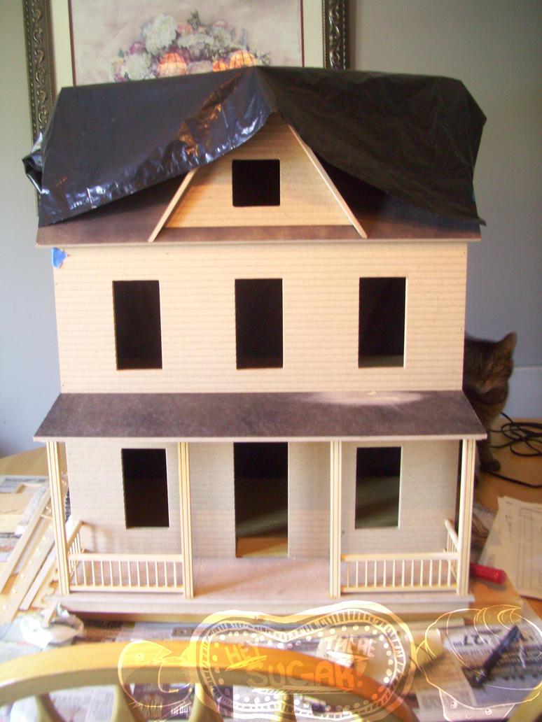 Vermont Farmhouse JR WIP By TinyDelights On DeviantArt