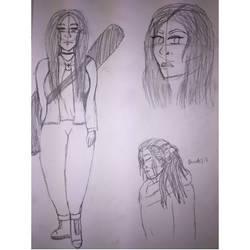 Silvia (OC) Sketches