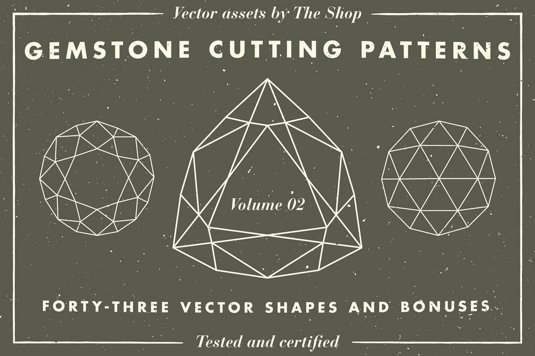Gemstone cutting pattern volume 02 by simonh4