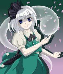 Youmu - Samurai Ghost Girl