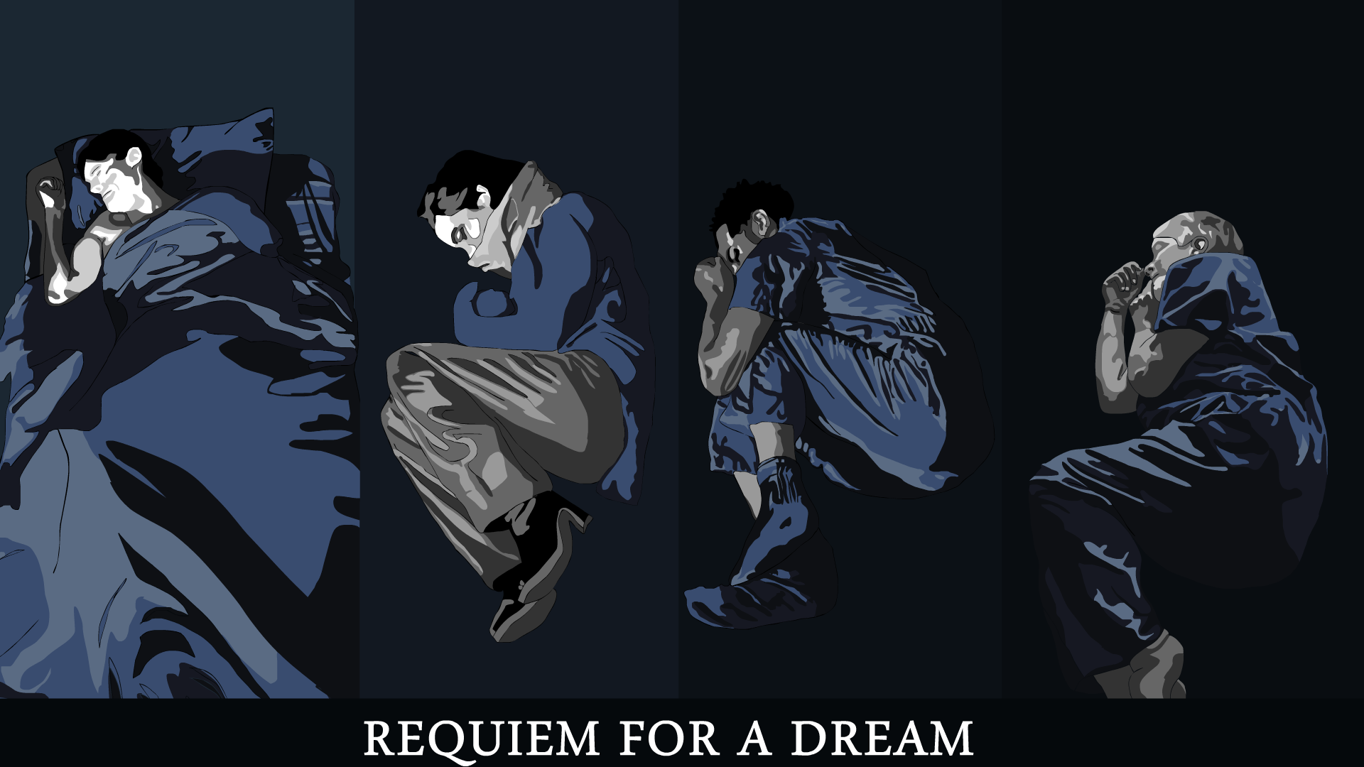Requiem For A Dream Poster By Charlesjimenez On Deviantart