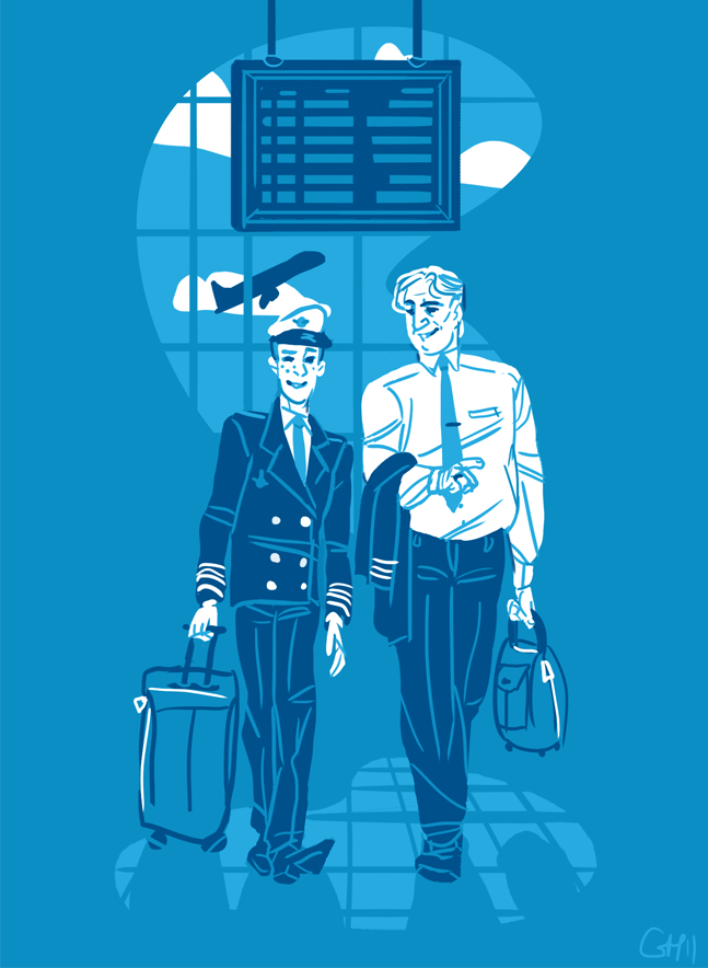 Cabin Pressure: Where The Air Is Rarified by gabiiiiiii