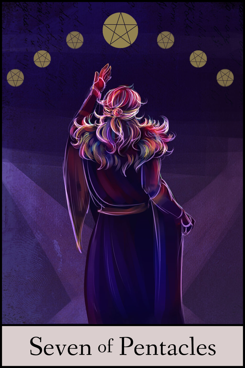 GTRO Tarot: 7 of Pentacles