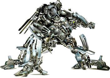 Transformer - BLACKOUT by wakdor