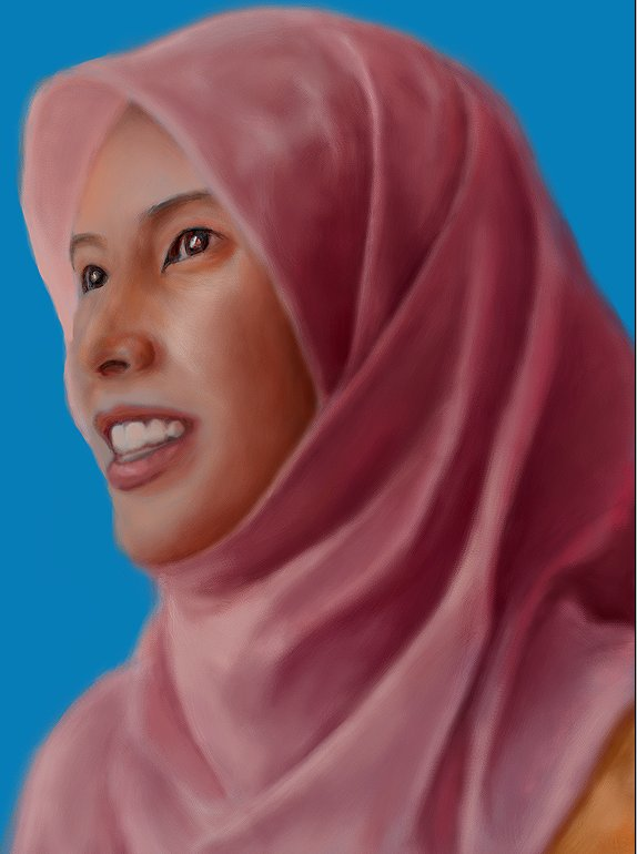 Nurul Izzah - Speed Painting by wakdor
