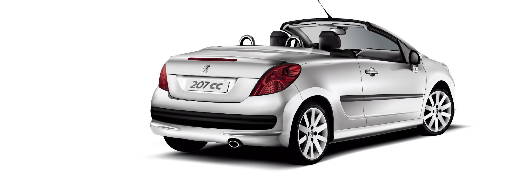 Peugeot 207CC by wakdor