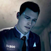 Connor RK800 - Detroit Become Human by second-account-ii