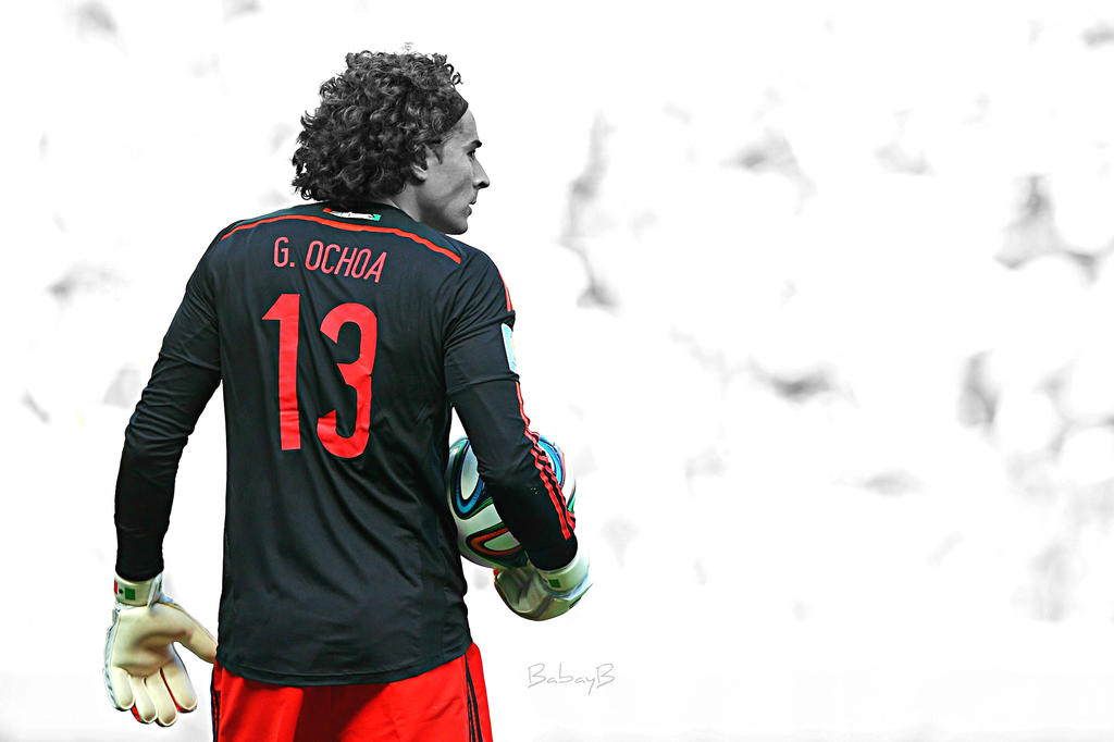 Guillermo ochoa by babayb on deviantart - Guillermo ochoa wallpaper ...