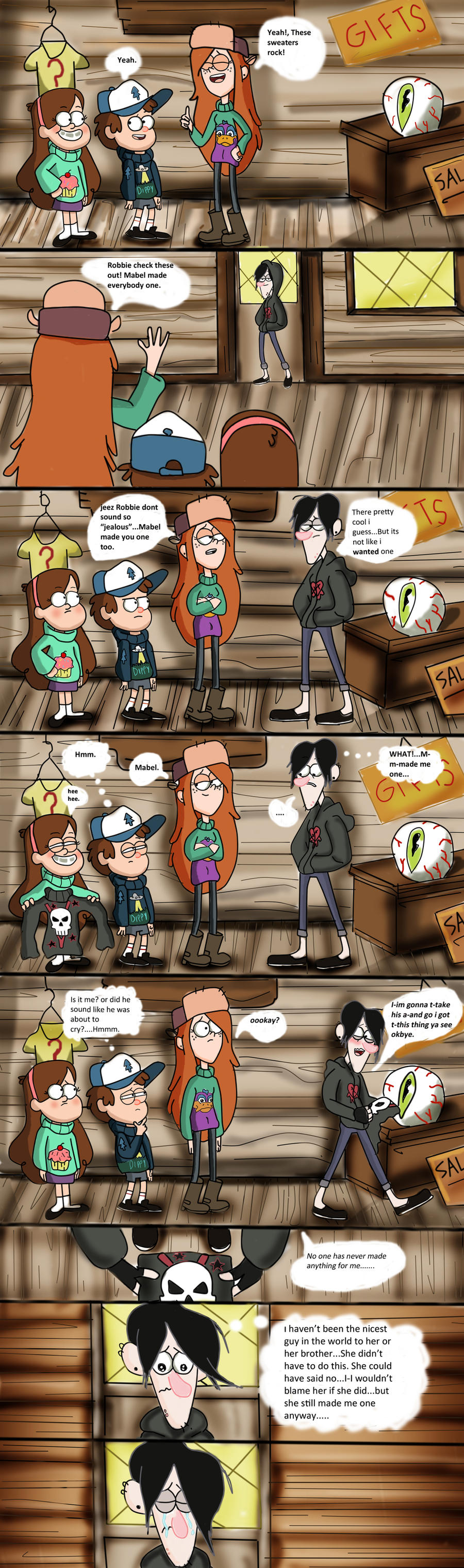 Robbie's Feels by Axels-inferno