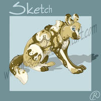 Painted Dog by IrisCanine