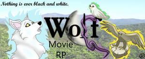 Wolf Movie Banner by IrisCanine