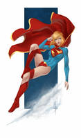 Drink and Draw Supergirl