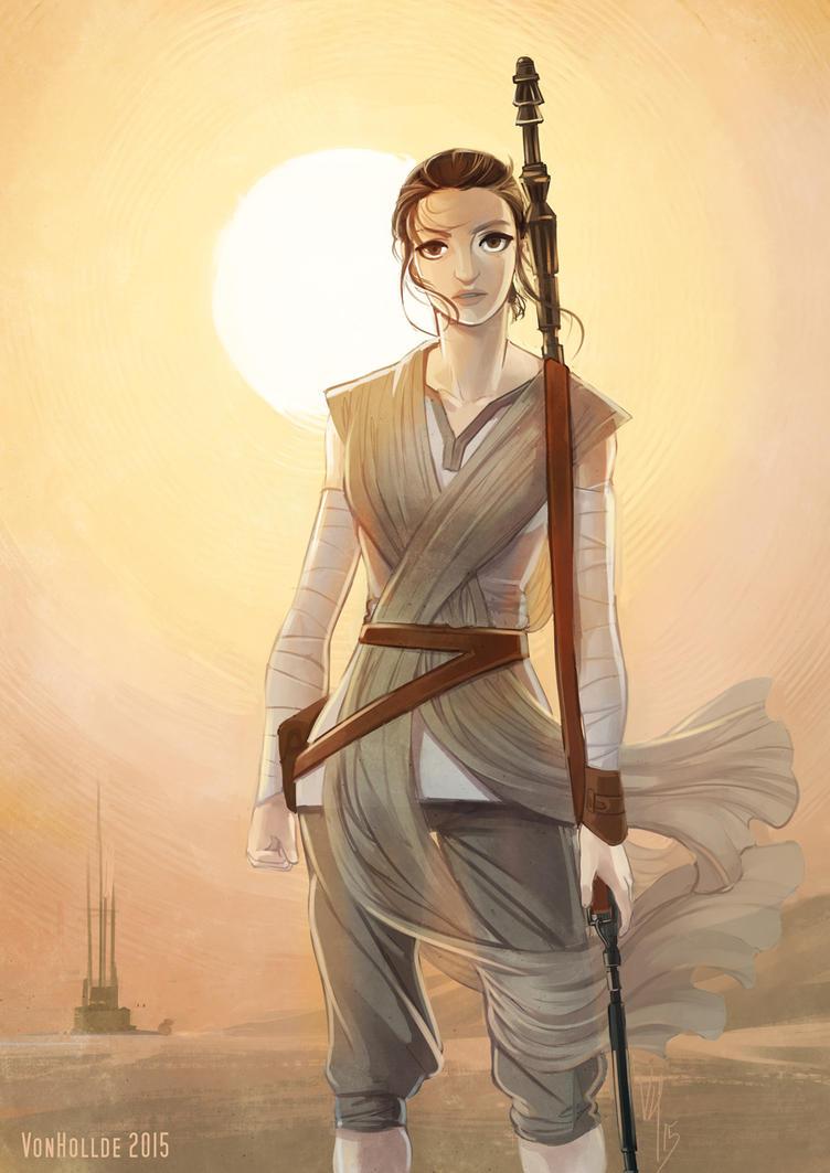 Rey by VonHollde