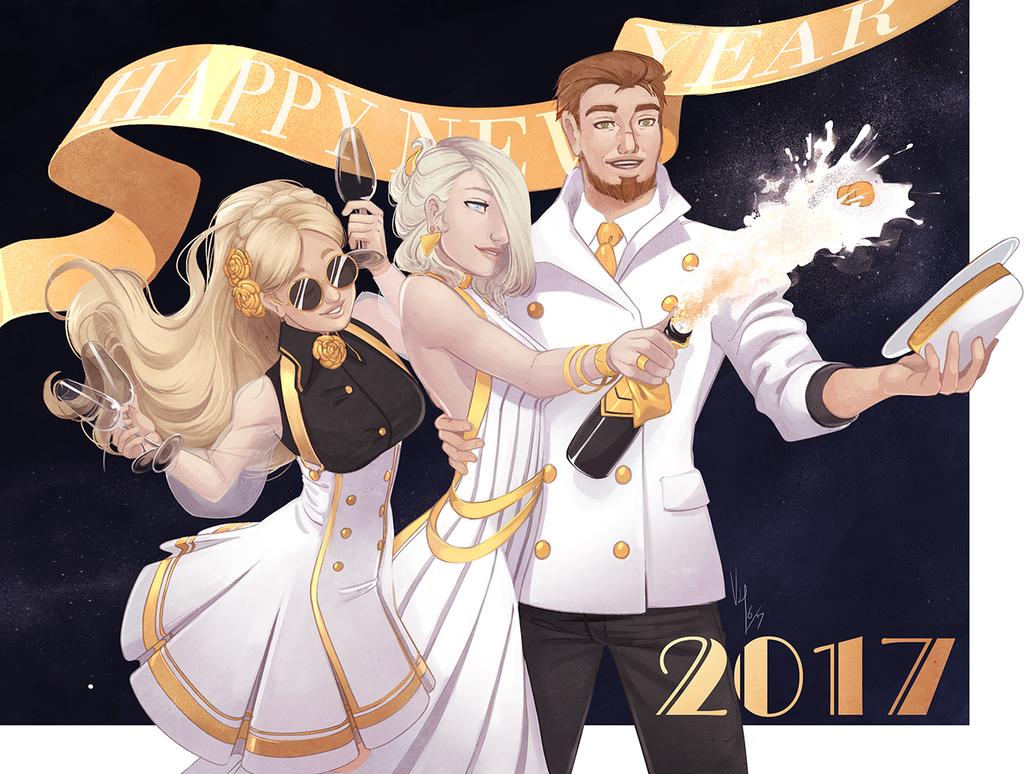Happy 2017 by VonHollde