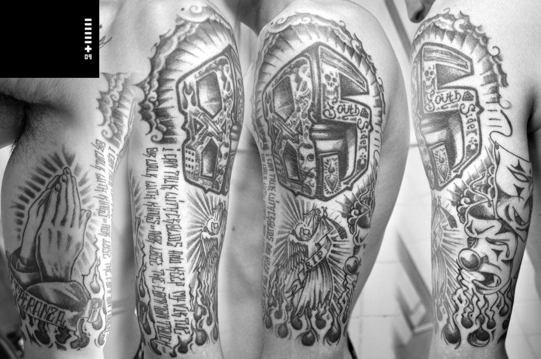 half sleeve - sleeve tattoo