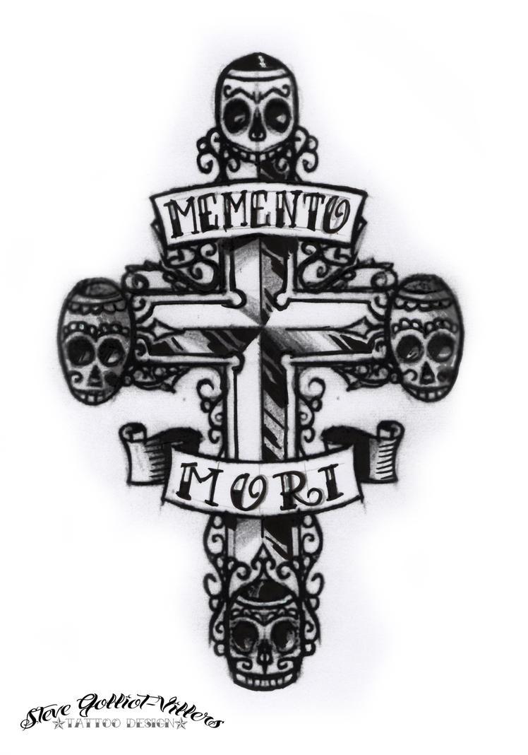 Memento Mori Tattoo Design