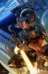 Cosmic Corsair Entry - Captain Verona Ares