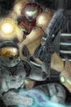 - Spartan + Samus -