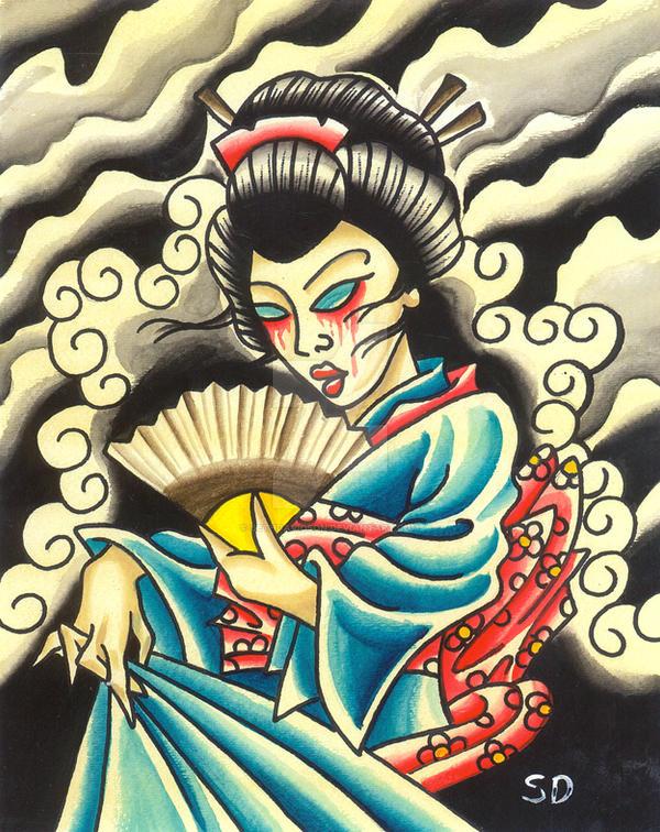Geisha by Seth Davidson by sethdavidson
