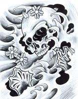 Oriental Skull by sethdavidson