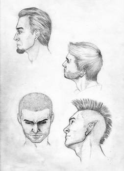 Drawing head, example 2