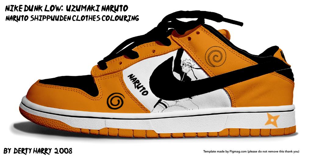 Madara Uchiha Nike Shoes