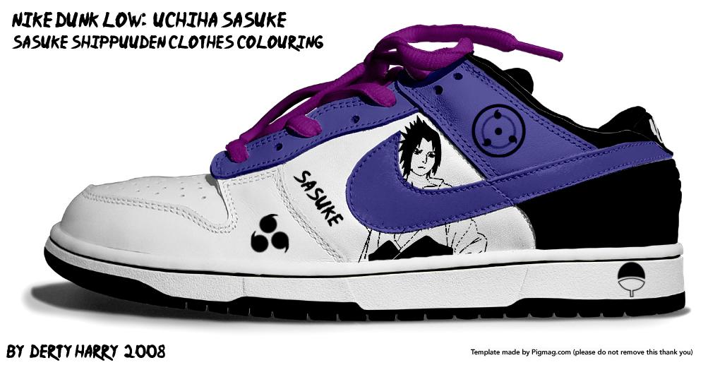 http://fc29.deviantart.com/fs27/f/2008/104/a/2/Nike_Dunk_Low_Uchiha_Sasuke_v2_by_DertyHarry.jpg