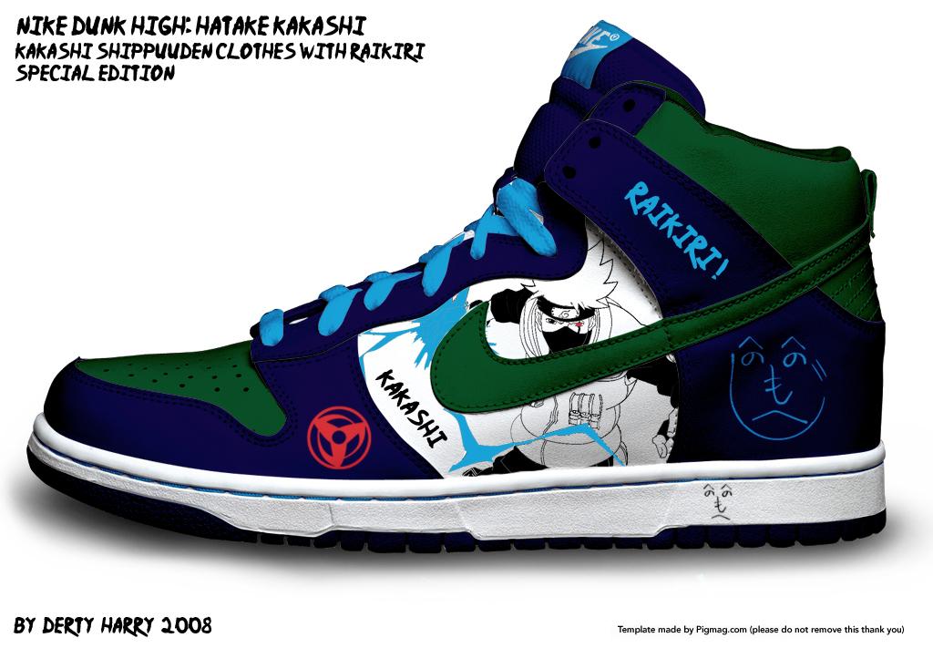 http://fc92.deviantart.com/fs28/f/2008/133/1/5/Nike_Dunk_High__Hatake_Kakashi_by_DertyHarry.jpg