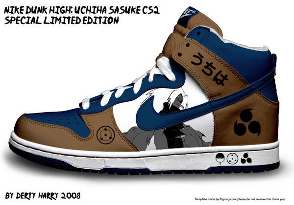 NIke Dunk High: Sasuke CS2 by DertyHarry