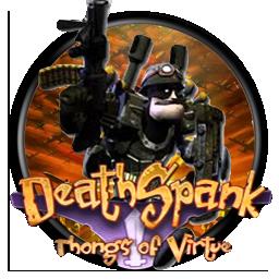 Deathspank thongs by grey0art
