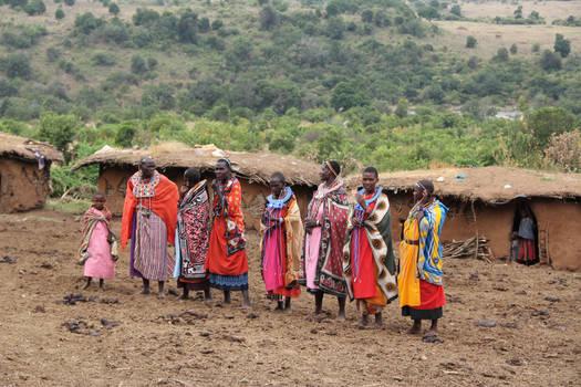 Maasai Village People
