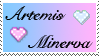 Stamp: ArtemisxMinerva by porpierita