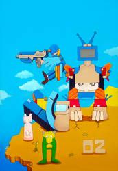 Invasion Pop art