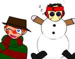 Jason the snowman XD