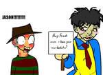 Freddy's new b--ch. XD