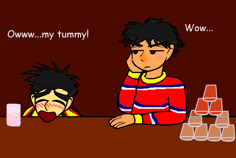 Bert And Ernie Get Drunk By Ynnep On Deviantart