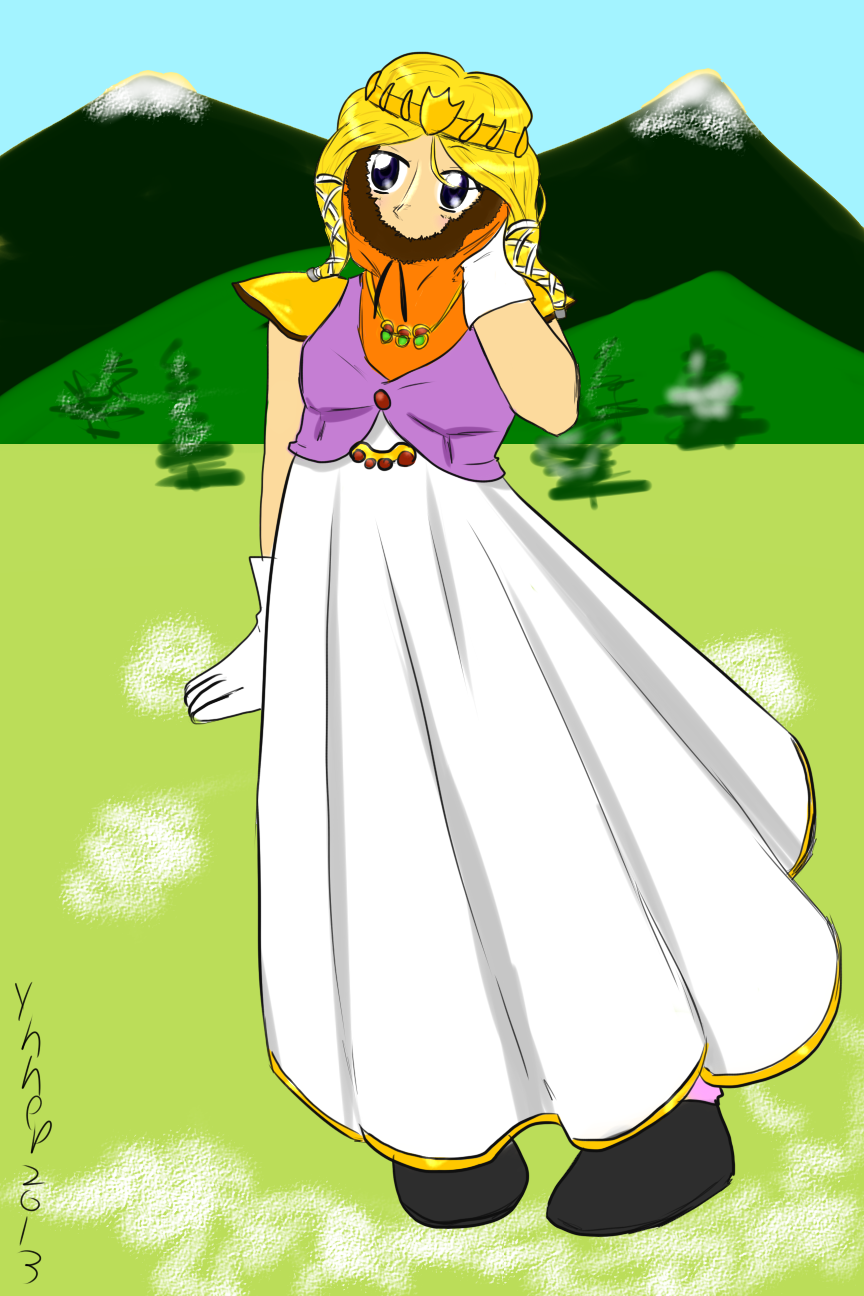 Kenny-Chan Kawaii Princess by Ynnep
