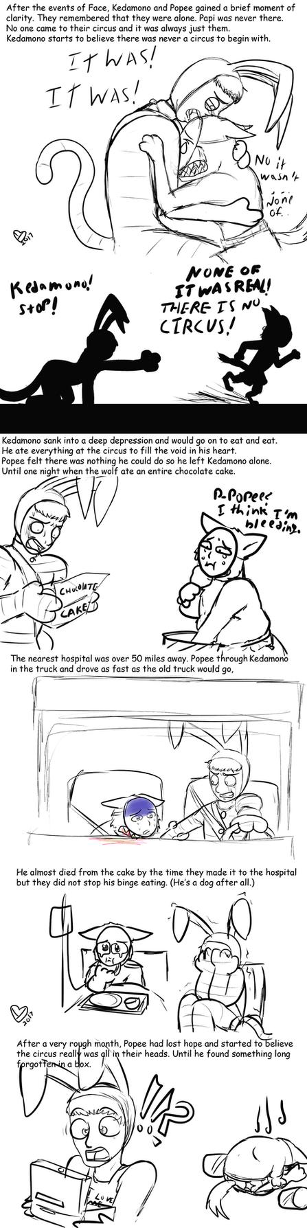 FAT KEDAMONO comic 1 by Ynnep